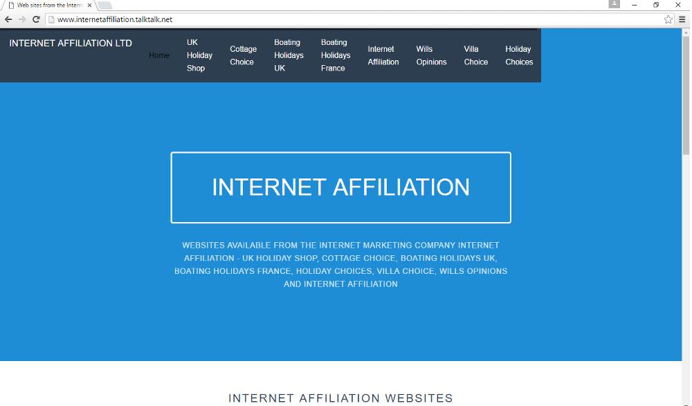internetaffiliation.talktalk.net