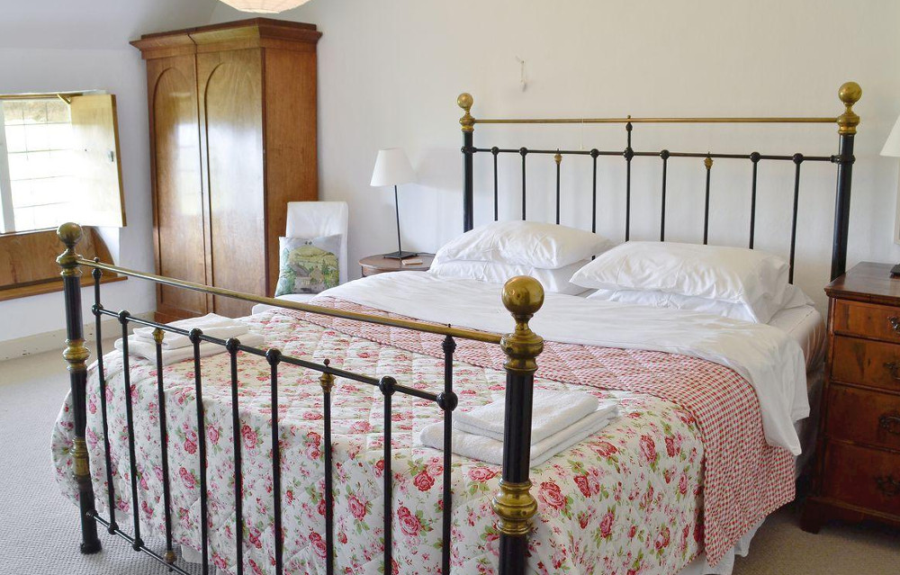 Bedroom at North End Farm House near Bridport in Dorset