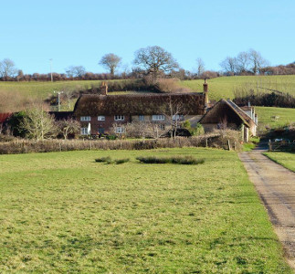 North End Farm House near Bridport in Dorset - holiday cottage sleeping 14 people