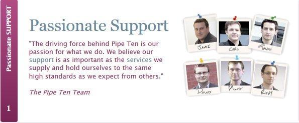Meet the PipeTen team