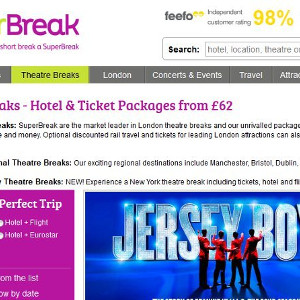 SuperBreak - experts in short break holidays