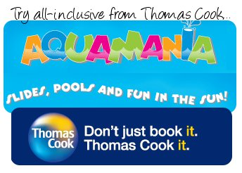 Thomas Cook Aquamania Holidays