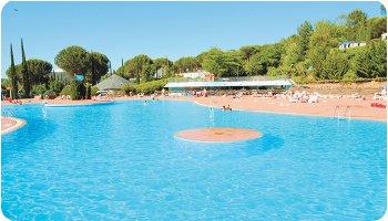 Euro Camp swimming pool