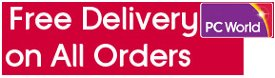 Free delivery on everything at PC World