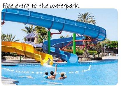 Waterpark at Hotel Sun Palace